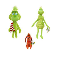 The Grinch Stuffed Animals cartoon 18- 40cm Plush Toys Cute f...