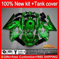 Thundercat för Yamaha YZF 600 R CC 600CC 600R 72HC.29 Glänsande grön YZF600R YZF-600R 96 97 98 99 00 01 02 03 04 05 06 07 1996 2007 Fairings