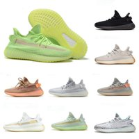 2019 Nouveau Kanye V2 True Form Hyperspace Clay Static Refective Chaussures De Course Sesame Chaussures Hommes Femmes Baskets West Designer Sport Baskets Taille 36-46