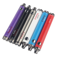 Evod Twist 2 II batería de alta calidad 1600mAh Voltage Variable VV 3.3 ~ 4.8V Vision Spinner Baterías Starter Kit