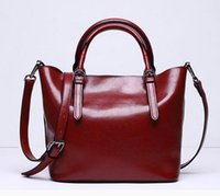 Genuine Leather Women' s Handbags Shoulder Cross- body Ba...