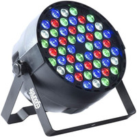 Новая Продажа 54x3w Водонепроницаемого RGBW LED Par освещение IP65 DMX512 Profeesioal Stage Disco DJ оборудование