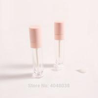 Пустой блеск для губ Контейнер Clear Blook Розовая крышка Губная труба Контейнер для губной губной губной помада.