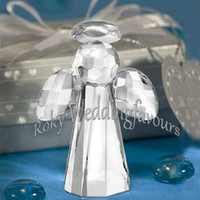 Free Shipping 50pcs Choice Crystal Angel Favors Party Ideas ...
