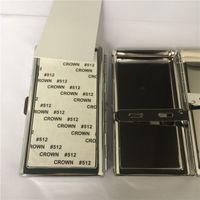 Sublimaton yeni boş metal sigara kılıfları DIY kişiselleştirilmiş yüksek kaliteli sıcak transfer baskı sigara durumda iki taraf ...
