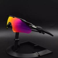 Radar EV Pitch Óculos Ao Ar Livre Óculos de Sol Polarizado Lente Ciclismo Óculos De Ciclismo Óculos De Goggles Homens Mulheres Esportes Equitação Sun Óculos