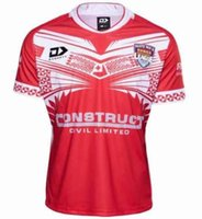 tongas 2019 2020 league jersey S-5XL TONGA National LEAGUE home maglia da rugby maglie camicia