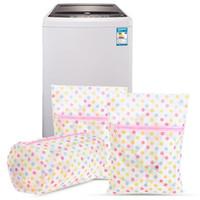 Стиральная уход прачечная сумки 30*40 см печати прачечная мешок одежда стиральная машина белье бюстгальтер сетка чистая мыть мешок корзина DH0962