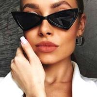 Vidano Optique Nouvelles Femmes De La Mode De La Chat Eye Lunettes De Soleil Petit Cadre Designer Cateye De Luxe Lunettes De Soleil Oculos De Sol