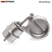 EPMAN عالية الأداء NEW فراغ المنشط العادم انقطاع 3 '' الضغط 76MM إغلاق نمط: حوالي 1 BAR EP-CUT76-CL