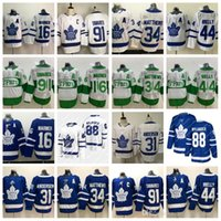 Toronto Maple Leafs John Tavares Auston Matthew William Nylander Mitchell Marner Morgan Rielly Frederik Andersen Eishockey Jersey