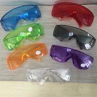 Mode Schutzbrille Anti-Fog-Wind-Staub-Beweis Schutzbrillen Brillen Brillen Außen Splash Proof Schlagschutzbrille 9 Farben