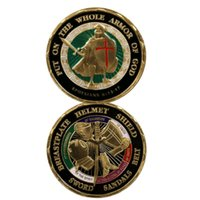 GLSY New Armor of God Challenge Coin Put On The Whole Armor ...
