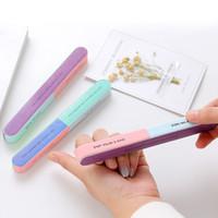 Sechsseitige Poliernagelfeile Professionelle Nagelfeilenpuffer Shiner Finger Toe Maniküre Pediküre Polieren Schleifen Nail Art RRA1721
