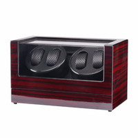 New US Plug Double Head 4 Slots Lacquer Wood Rotate Electric...