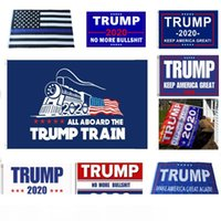 New Trump 2020 Flag Donald Trump Flag Keep America Great Donald For President USA Campaign Banner Garden Flags 90 * 150cm 12 Styles HH7-1988
