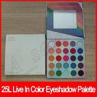 Eye Makeup Eye Shadow Palette 25 colori di luccichio opaco ombretto Live In Colore 25L duratura impermeabile Ombretto