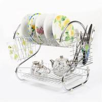 Кухонной посуды стеллаж для хранения, сухой лоток