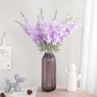 Schöne neue Delphinium Blume Ast Flores Silk künstliche Blumen für Home Hochzeit Dekoration Fleur Artificielle