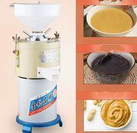 35kg populares / h comercial de mantequilla de maní que hace la máquina que hace la máquina Tahini sésamo Tahini máquina fabricante de la mantequilla de cacahuete