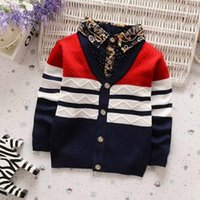 good quality Spring Autumn Children Boys Sweaters Long Sleev...