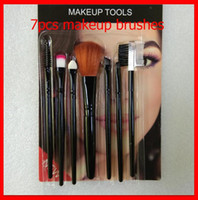 Make Up Tools Beleza Professional Makeup Brushes Set Sombra sobrancelha Blush Foudation Batom 7pcs Escovas Kit