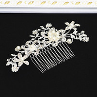 In Stock Hair Comb Bridal Wedding dei monili crytals strass diademi Accessori capelli scintillanti sposa Bohemian Combs copricapo