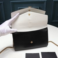 Sulpice حقيبة مصمم أكياس فاخرة سلسلة محفظة crossbody محفظة المرأة السلس مخلب الأزياء الجلود سلسلة b lflde