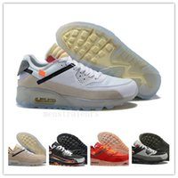 2020 originais Homens sapatilhas clássicas 90 UNDFTD Invicto Running Shoes instrutor Sports Cushion 90 Superfície respirável des chaussures Shoes