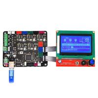 Freeshipping carte contrôleur d'imprimante 3D MKS Avec Mega 2560 Base de R3 mère RepRap Ramps1.4 + 12864 Controller LCD