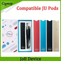 Joll Starter-Kits 280mAh Kompatibel Raucher-Batterie USB-Ladegerät Patronen-Pods Einweg-Vape-Stift-Kits