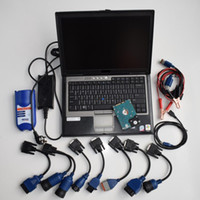 Diesel Caminhão Diagnóstico Scanner Tool Nexiq 125032 link USB com laptop D630 Cabos Full Set 2 ANOS GARANTIA