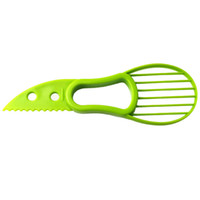 3-in-1 Avocado Slicer Obst Cutter-Messer Corer Pulp Separator Shea Butter Messer Küchenhelfer Zubehör Gadgets Kochen Werkzeuge RRA2832-4