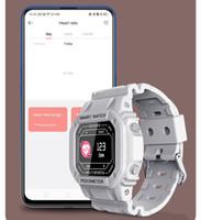I2 الذكية ووتش ضغط الدم الأكسجين القلب رصد معدل معصمه IP67 ماء رسالة تذكير للرجال النساء اللياقة تعقب سوار