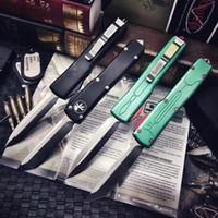 ! Automatic especial Microtech Ultratech do caçador de prémios facas automáticas UT85 UTX85 ferramenta UTX70 VG10 Lâmina de Halo V Outdoor Camping Facas EDC