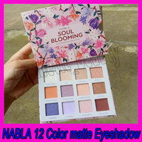 .Epacket Shipping Eye Makeup NABLA 12 Color Matte Eyeshadow SOUL Blooming Natural طويلة الأمد ظلال العيون لوحة