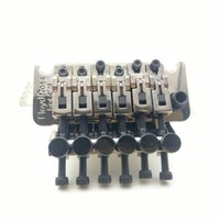 NUOVO nichel nero FUz Bridge System Tremolo della chitarra base in rame puro Dado di bloccaggio 42 millimetri / 43 millimetri / Made in Korea