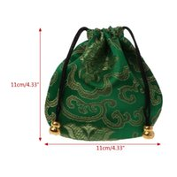 Traditional Silk Travel Pouch Classic Chinese Embroidery Jew...