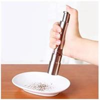Aço inoxidável moedor de pimenta portátil manual Pimenta Muller tempero Moagem Fresadora Mini Cozinhar EEA1270 cozinha