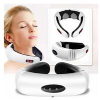 Impulso elettrico schiena e collo massaggiatore lontano infrarosso riscaldamento Pain Relief Salute e Bellezza Relax strumento intelligente Cervicale Massaggiatore
