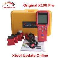 DHLフリーシップXTool X100 PRO2 AUTO X100 +アップデートバージョンX 100プログラマーX-100 +キーアップデートオンライン