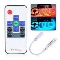 LED-Controller drahtlose RF-Fernbedienung RGB-LED-Controller programmierbar für ferngesteuerte batteriebetriebene LED-Licht 10 Schlüssel 12V