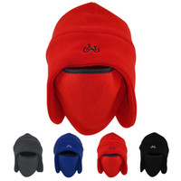 Winter outdoor thermal thickening cycling windproof cold rid...