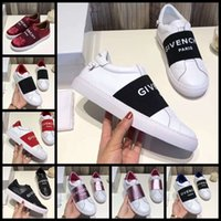 c2ec8a86faaec Chaussures de marque Sneaker Casual Shoes Real Leather Sneakers Stripes  Chaussure Mode Casual chaussures formateurs pour