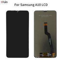 OEM Negro Pantalla LCD digitalizador Asamblea para Samsung Galaxy A10 A105 SM-A105F piezas de recambio por DHL