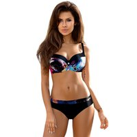 2019 Push Up Women Bikini Set Sexy Swimsuit Print Plus Size ...