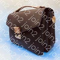 Pochette ميتيس حقيبة يد، إمرأة أزياء الصليب حقيبة الجسم swingpack الكتف حقيبة صغيرة أعلى مقبض حقيبة يد بني الصفراء للماء قماش M40780