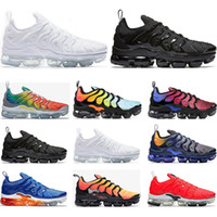 2019 Hot Running shoes for mens PURE PLATINUM Rainbow work b...