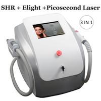 opt de la machine d'épilation permanente opt SHR ipl épilation au laser rajeunissement peau elight de traitement de peau de carbone
