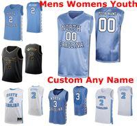 NCAA North Carolina Tar Heels Trikots 2 Cole Anthony Jersey Armando Bacot 1 Undicht schwarz Garrison Brooks Ellis Basketball Trikots Mens Custom